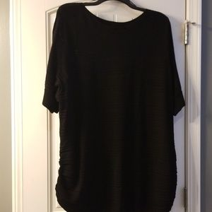 NWT Apt. 9 Black Loose Knit Sweater 3x